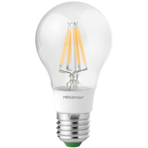 MEGAMAN E27 5.5W 2700K 470lm náhrada 40W; LED žárovka A60 LG6205.5dCS
