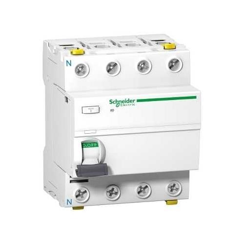 Schneider Electric proudový chránič 4P 40A 100mA AC 10kA; A9Z12440 iID