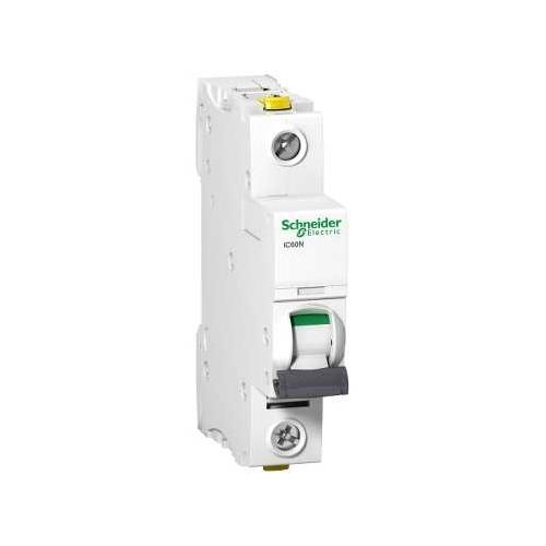 Schneider Electric jistič 1P 20A B 6kA; iC60N jistič jednopólový