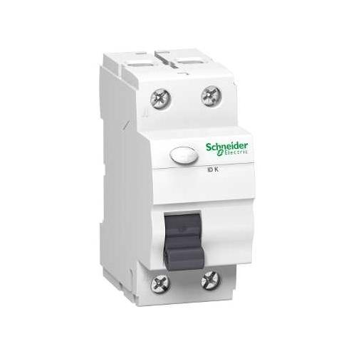 Schneider Electric proudový chránič 2P 25A 30mA AC 10kA; A9Z11225 iID