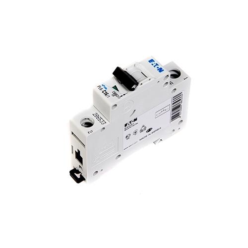 EATON jistič 1P 16A C 6kA 230/400V; PL6-C16/1 286533 pro motory