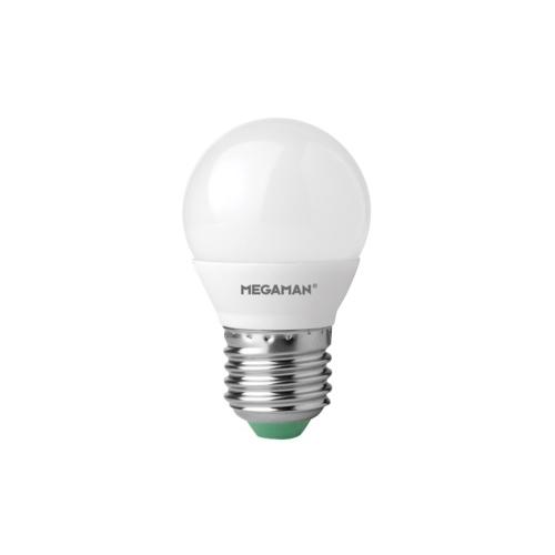 MEGAMAN E27 3.5W 2800K 250lm náhrada 25W; LED kapková žárovka P45 LG2603.5v2