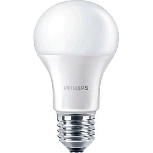 PHILIPS E27 9W 6500K 806lm náhrada 60W; LED žárovka A60 NonDim