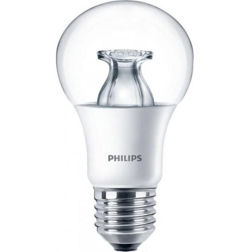 PHILIPS E27 6.5W 2700K 470lm náhrada 40W; LED žárovka A60 NonDim