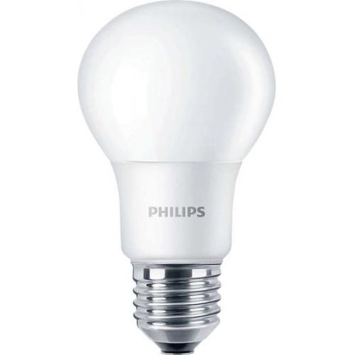 PHILIPS E27 5.5W 6500K 470lm náhrada 40W; LED žárovka A60 NonDim