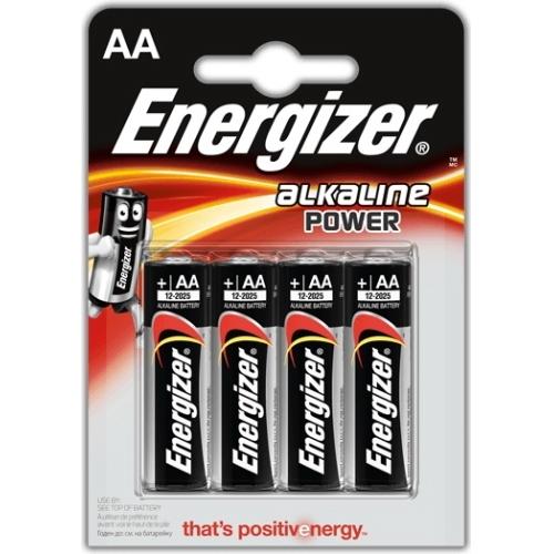 ENERGIZER AA ALKALINE POWER baterie tužková ; LR06