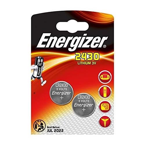 ENERGIZER CR2430 lithiová baterie knoflíková; 2ks v blistru