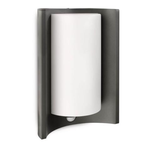 PHILIPS venkovní svítidlo Meander E27 se senzorem; antracit (16405/93/16)