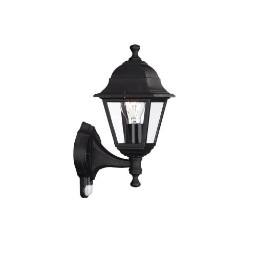 MASSIVE venkovní svítidlo Lima E27 se senzorem; černá (71422/01/30)