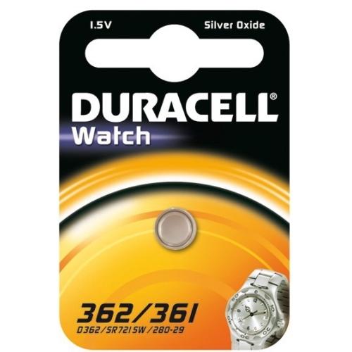 DURACELL baterie do hodinek 362/361 balení: 1ks v blistru
