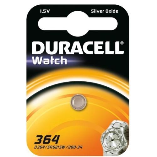 DURACELL baterie do hodinek 364 balení: 1ks v blistru