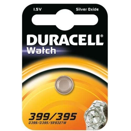 DURACELL baterie do hodinek 399/395 balení: 1ks v blistru