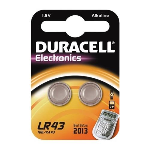 DURACELL baterie speciální LR43