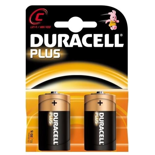 DURACELL C Plus baterie malý monočlánek ; MN1400/LR14