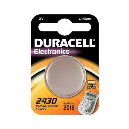 DURACELL CR2430 lithiová baterie knoflíková; 1ks v blistru