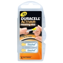 DURACELL Hearing Aid ZA10 baterie do naslouchadel