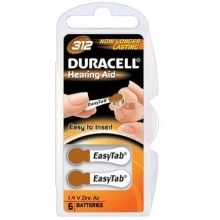 DURACELL Hearing Aid ZA312 baterie do naslouchadel