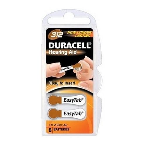 DURACELL Hearing Aid ZA312 baterie do naslouchadel