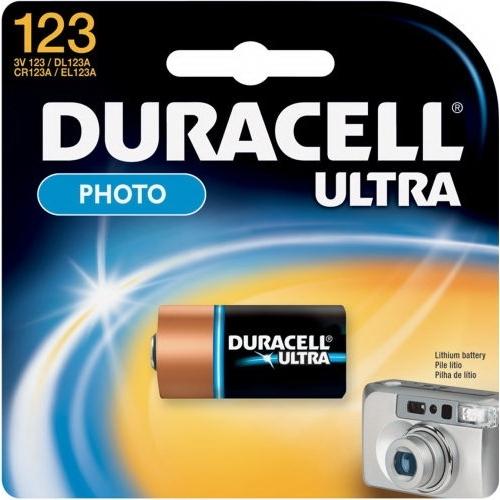DURACELL Ultra Lithium 123 baterie do fotoaparátu