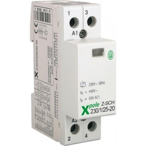 EATON instalační stykač 25A 230V; Z-SCH230/1/25-20 120853 2Zap