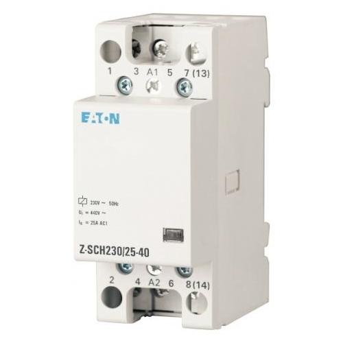 EATON instalační stykač 25A 230V; Z-SCH230/25-40 248847 4Zap