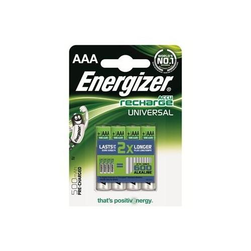 ENERGIEZER baterie nabíjecí UNIVERSAL 500mAh AAA