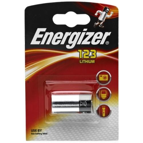 ENERGIZER 123 baterie do fotoaparátu EL123AP