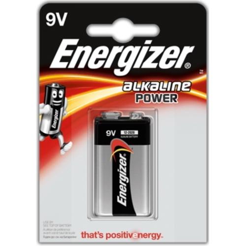 ENERGIZER baterie alkalická ALKALINE POWER 6LR61/9V  BL1  1kus