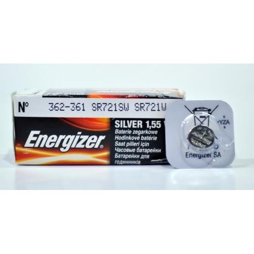 ENERGIZER baterie do hodinek 362/361 balení: 1ks v blistru