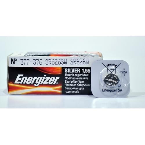 ENERGIZER baterie do hodinek 377/376 balení: 1ks v blistru
