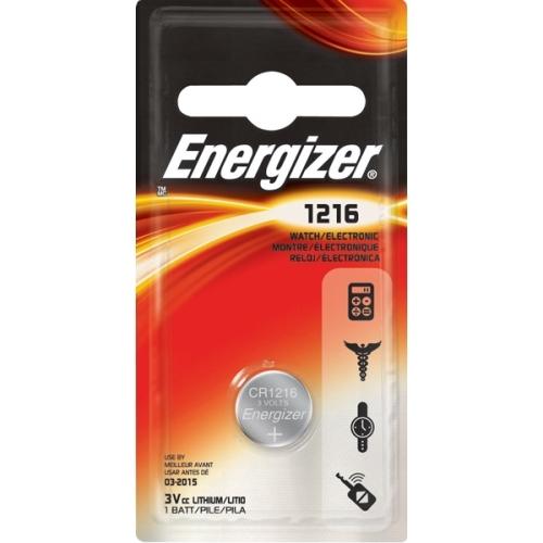 ENERGIZER baterie lithiova-knoflik. 3V/79mAh 1216
