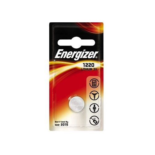 ENERGIZER CR1220 lithiová baterie knoflíková; 1ks v blistru