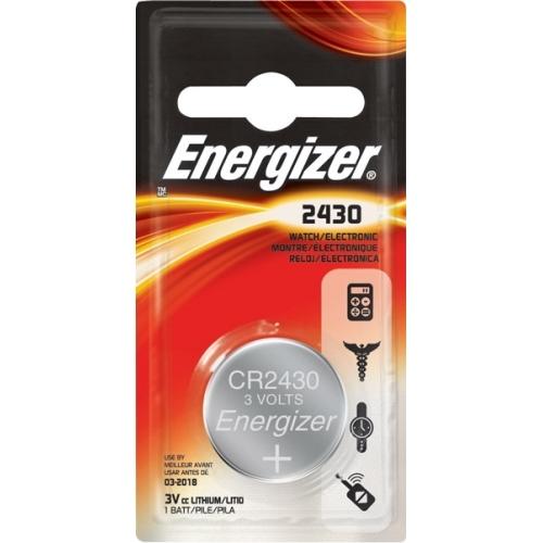 ENERGIZER CR2430 lithiová baterie knoflíková; 1ks v blistru