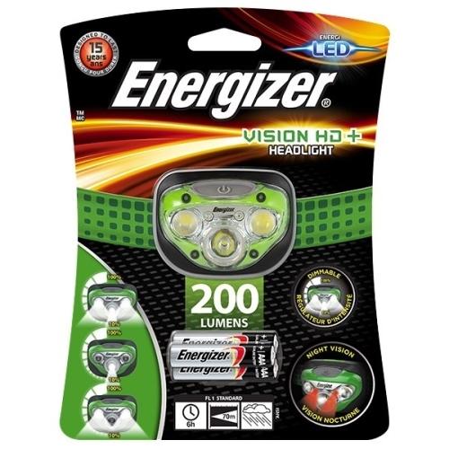 ENERGIZER svítilna čelová Vision HD+ Headlight 3xAAA