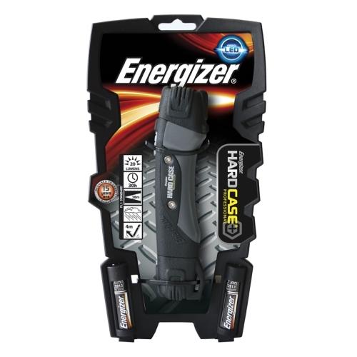 ENERGIZER svitilna Hardcase 1 LED 2xAA 125lm +4xAA