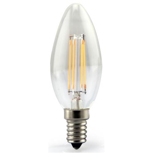 MEGAMAN E14 3W 2700K 250lm náhrada 25W; LED svíčková žárovka B35 LC1403CS