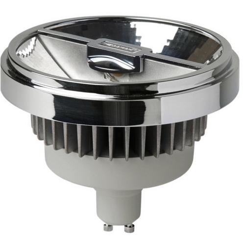 MEGAMAN GU10 15W 4000K 950lm/45° náhrada 75W; LED reflektor AR111 Dim LR1815d