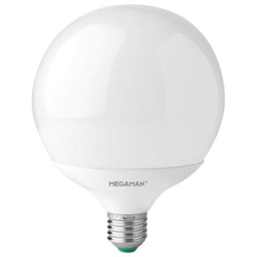 MEGAMAN LED globe G120 14W/100W E27 2800K 1521lm NonDim 15Y opal