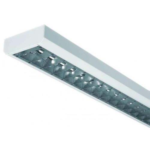 MODUS svítidlo LLX 36Wx1 EP hlíník. m./předřadník;  přisazené/závěsné LLX136ALEP
