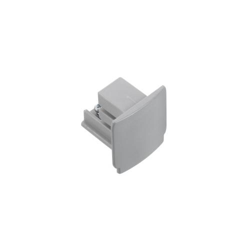 Nord.Alum. koncová krytka XTS41-1  k GlobalTrac; stříbrná
