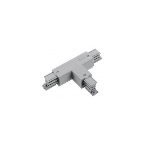 Nord.Alum. konektor vnější pravý T XTS36-1  k GlobalTrac ; stříbrný