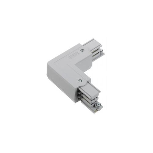 Nord.Alum. konektor vnitřní L XTS34-1  k GlobalTrac ; stříbrný