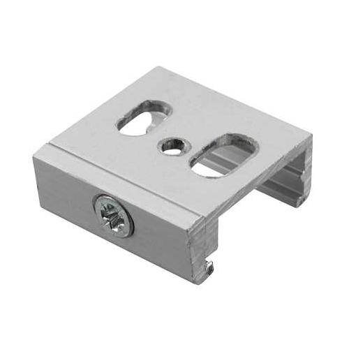 Nord.Alum. stropní svorka SKB12-1 k GlobalTrac; stříbrná