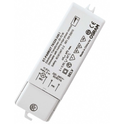 OSRAM 105W 220-240V ET PARROT trafo elektronické