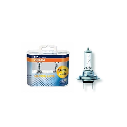 OSRAM UltraLife H7 autožárovka (2ks!!)  ; 64210ULT HCBox-2ks