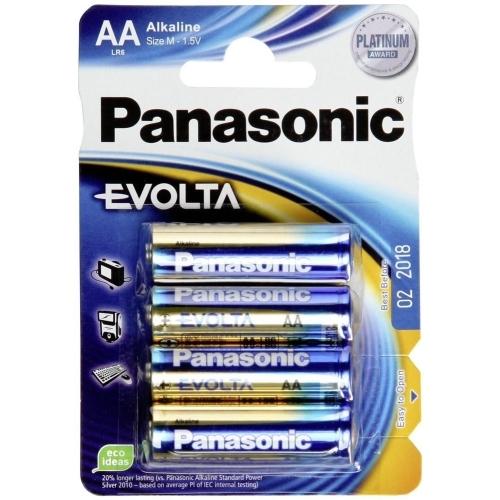 PANASONIC AA EVOLTA baterie tužková ; LR6