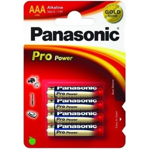 PANASONIC AAA ProPower baterie mikrotužková ; LR03