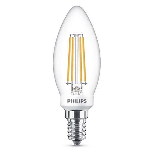 PHILIPS E14 2W 2700K 250lm náhrada 25W; LED svíčková žárovka B35 NonDim