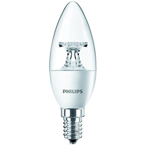 PHILIPS E14 4W 2700K 250lm náhrada 25W; LED žárovka svíčková čirá