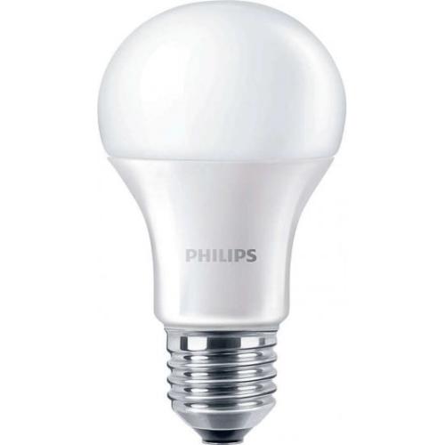 PHILIPS E27 10W 6500K 1055lm náhrada 75W; LED žárovka A60 NonDim